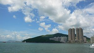 Cape Collinson - View of Cape Collinson and Siu Sai Wan facing the waters of Tathong Channel.