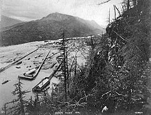 View of Skagway, 1898
