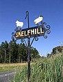 Skelfhill Farm sign - geograph.org.uk - 549487.jpg