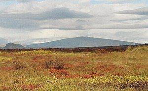 Shield volcano - Skjaldbreiður, Iceland, is eponymous for shield volcanoes.