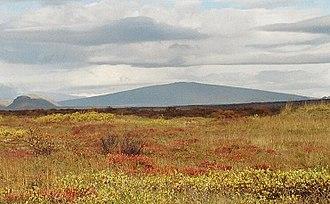 Shield volcano - Skjaldbreiður, Iceland, is eponymous for shield volcanoes.