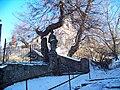 Slatina u Velvar, schody a kostel.jpg