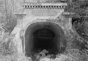 Sloss Mines - Image: Sloss No. 2 mine portal
