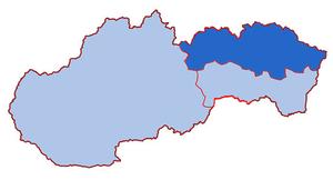 Map of the Presov Archipelago