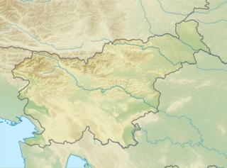 Nanos (plateau) mountain range