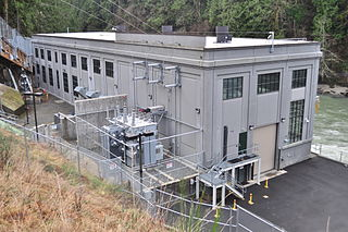 Snoqualmie Falls Hydroelectric Plant