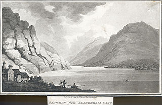 Snowdon from Llanberris Lake