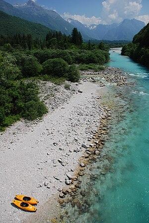 Soča River Slovenija