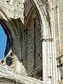 Soissons (02), abbaye Saint-Jean-des-Vignes, abbatiale, nef, tribune occidentale, angle sud-ouest.jpg