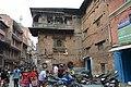 Some buildings in Kathmandu looked rather unstable (17824068602).jpg