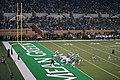 Southern Methodist vs. North Texas football 2018 22 (North Texas field goal).jpg