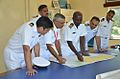 Southern Naval Command briefing for survey in progress on World Hydrographic Day 2014.jpg