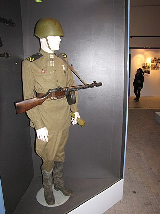 Naval Infantry (Russia) - Soviet-German War vintage Soviet Naval Infantry uniform.