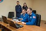 Soyuz MS-10 crew members practice rendezvous techniques.jpg