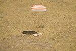 Soyuz TMA-03M capsule lands.jpg