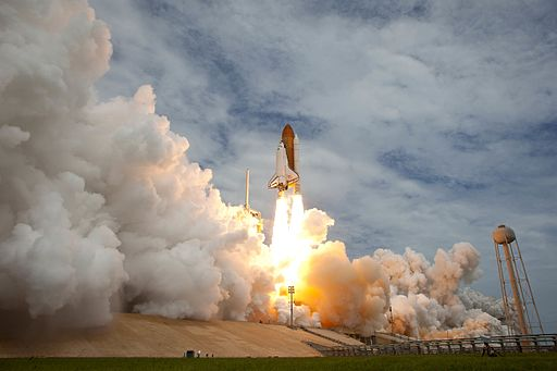 Space Shuttle launches one last time