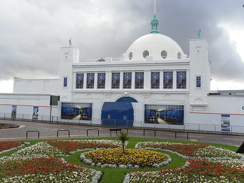 Spanish City in Whitley Bay