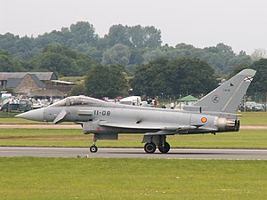 EADS CASA - The Eurofighter Typhoon is assembled in Spain by EADS-CASA for the Spanish Air Force