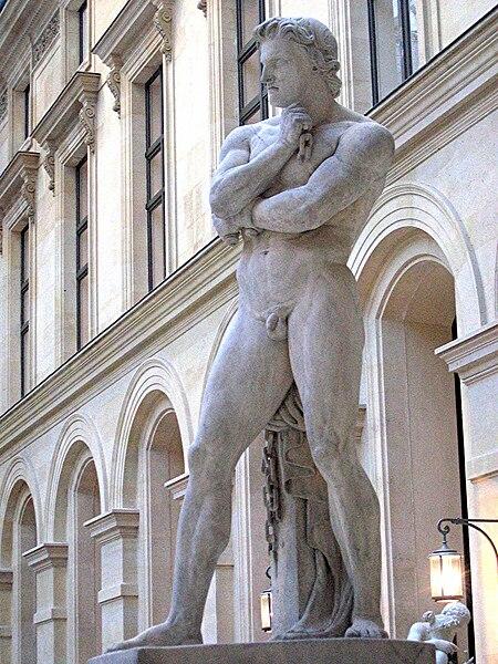 File:Spartacus statue by Denis Foyatier.jpg