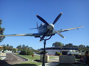 Aviation Heritage Museum (Western Australia) - Image: Spitfire Memorial