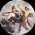 Spranger, Bartholomäus - Hermes and Athena - c. 1585.png