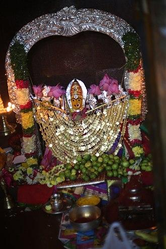 Shakambhari - Kanaka Durga as Shakambhari in Kanaka Durga Temple