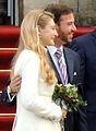 Stéphanie and Guillaume Royal Wedding 2012.jpg
