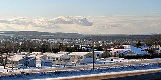 Saint-Léonard, New Brunswick - Image: St Leonard NB