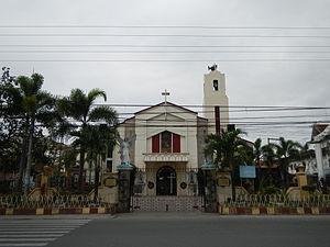 Dinalupihan, Bataan - Saint John the Baptist Church facade