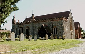 Hatfield Peverel - Image: St. Andrew's church, Hatfield Peverel, Essex geograph.org.uk 136598