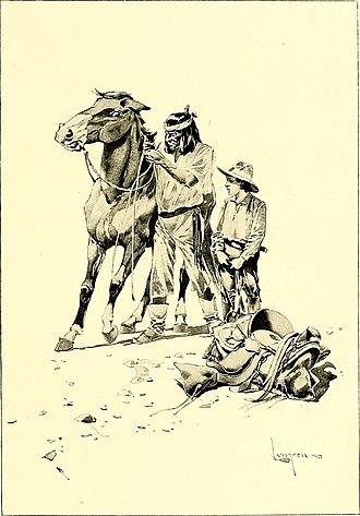Fernand Lungren - Illustration from St. Nicholas, (serial) (1873)