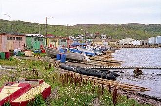 Saint Pierre Island - Image: St. Pierre Beached Boats, France (near Newfoundland)