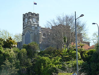 Hamilton Central - St Peter's Cathedral.