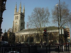St Sepulchre-without-Newgate - Photo of St. Sepulchre-without-Newgate