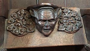 St Cuthbert's, Earls Court - Kensit Misericord