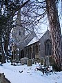 St Denis, Silk Willoughby, Lincs, in winter - geograph.org.uk - 1625844.jpg