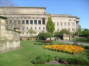 St John's Gardens - St John's Gardens with StGeorge's Hall in the background