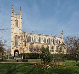 St Luke's Church, Chelsea - Image: St Luke's Church Exterior 2, Chelsea, England Diliff
