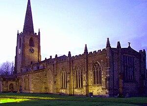 Bunny, Nottinghamshire - Image: St Mary's Bunny