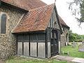 St Mary, Little Parndon - porch - geograph.org.uk - 1444992.jpg
