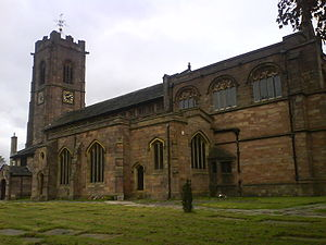 Metropolitan Borough of Bury - Parish Church of St. Mary the Virgin, Prestwich