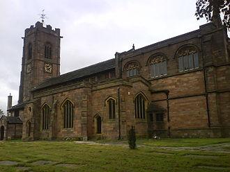 Metropolitan Borough of Bury - Parish Church of St. Mary the Virgin, Prestwich