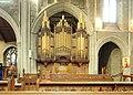 St Stephen's Parish Church, Bush Hill Park - organ facade 01.jpg