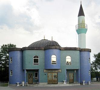 Stadtallendorf - Image: Stadtallendorf Mosque 1
