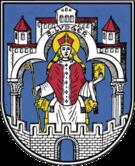 Das Wappen von Helmstedt