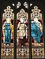 Stained glass window at St Mary's church, Teddington (2).jpg
