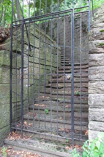 Stairway in Schenley Farms