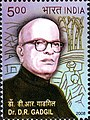 Stamp of India - 2008 - Colnect 157954 - Dr D R Gadgil.jpeg