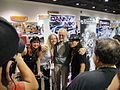 Stan Lee with Danny Miki and fans (5134040075).jpg