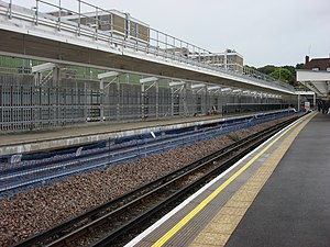 Stanmore tube station - Image: Stanmore tube station 3